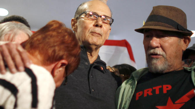 Puerto Rico independence leader returns home