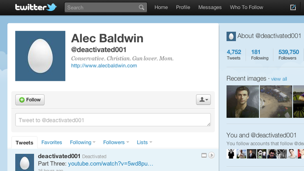 Alec Baldwin Quit Twitter … Sort Of