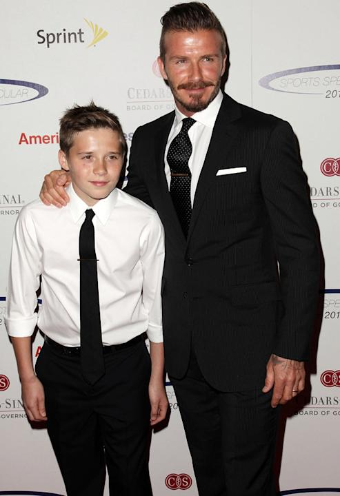Hottest Celebrity Dads: David Beckham