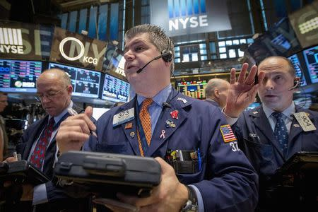 Wall Street up slightly ahead of jobs report