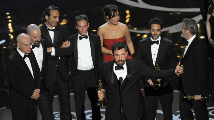 Television ratings up for Oscars, to 40.3M people