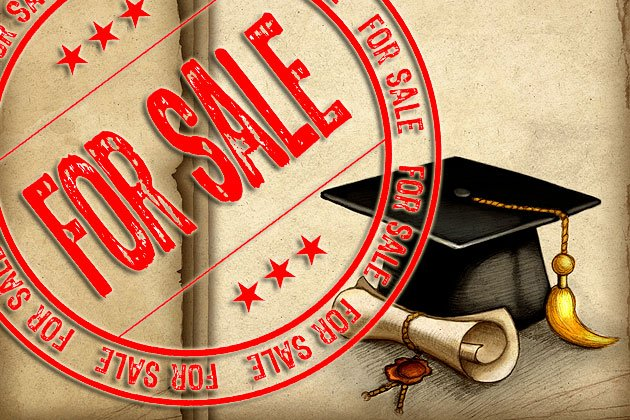 Degrees for Sale