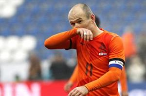 Robben: Netherlands must finish top to avoid Brazil