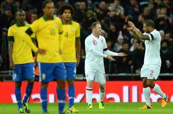 England 2-1 Brazil: Rooney and Lampard secure Wembley win