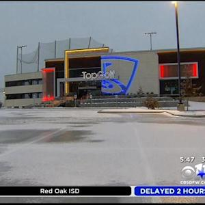 Ice Damage Closes Top Golf In The Colony