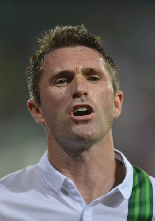 Irish Forward Robbie Keane …