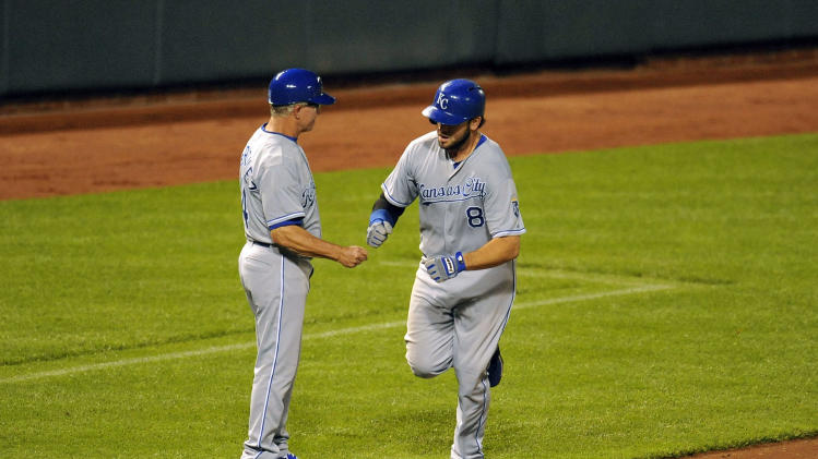 MLB: Kansas City Royals at Baltimore Orioles