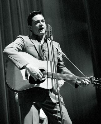 Johnny Cash , the subject of 20th Century Fox's Walk the Line