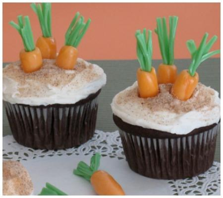 Rabbit's Easter Cupcakes