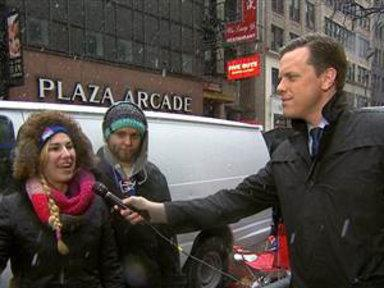 Fans Sleep in Snow to See Justin Timberlake On 'SNL'