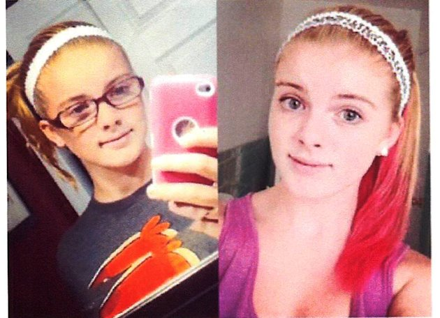 Photos released by Clayton, N.J. Police Department show Autumn Pasquale, 12, of Clayton, N.J. Authorities say her family reported her missing Saturday. Anyone with information is asked to contact the Clayton Police Department at (856) 881-2301. (AP Photo/Clayton, N.J. Police Department)