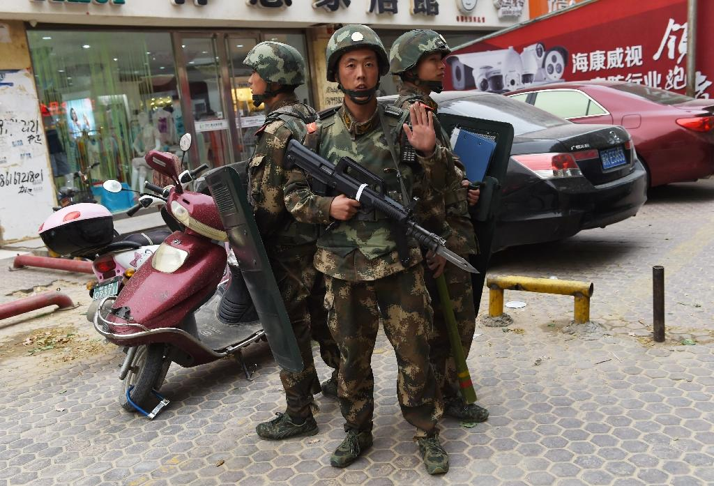 China forces shot protesters: Xinjiang residents