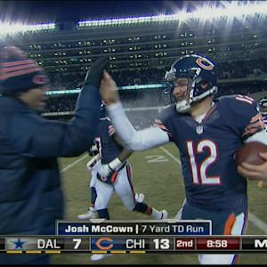 Chicago Bears quarterback Josh McCown 7-yard touchdown