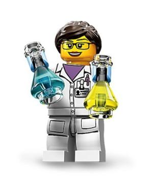 Lego Releases First Female Scientist