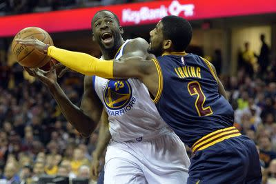 NBA schedule and results: Warriors, Cavaliers take center stage