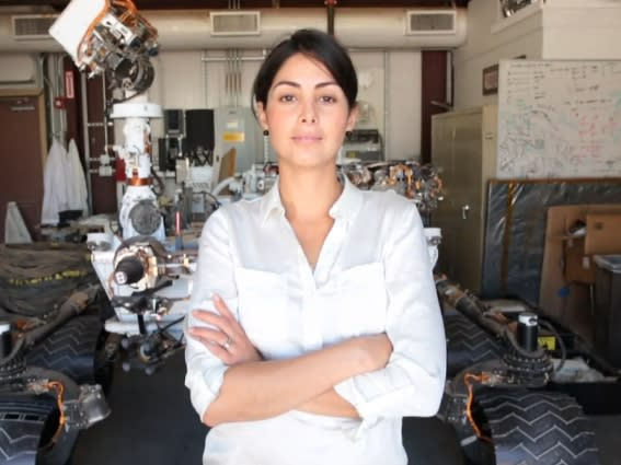 Diana Trujillo: NASA Jet Propulsion Lab engineer. Mars Curiosity team member. First-time dog owner.