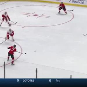 Jimmy Howard Save on David Legwand (01:25/2nd)