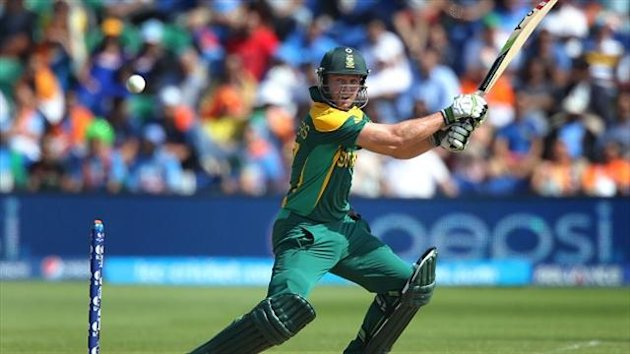 AB de Villiers' century set up a crushing win for South Africa.
