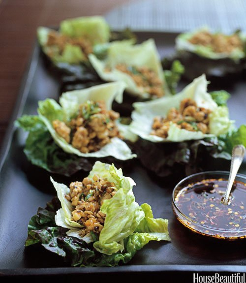 Chicken-Lettuce Cups