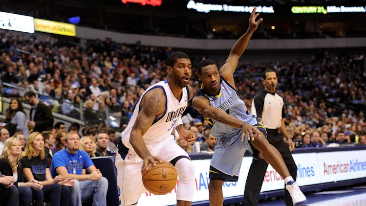 NBA: Memphis Grizzlies at Dallas Mavericks