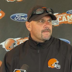 Cleveland Browns head coach Mike Pettine on scuffle: 'You have to practice that way'