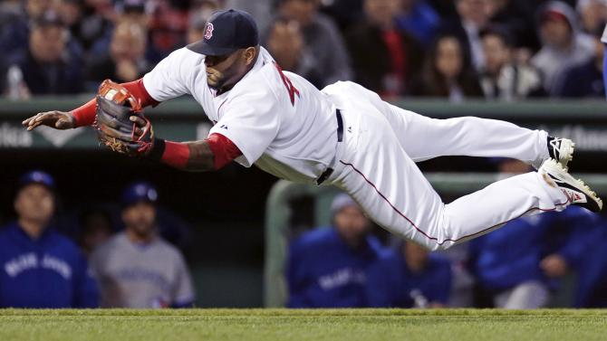 Red Sox 3B Sandoval leaves game with sore neck