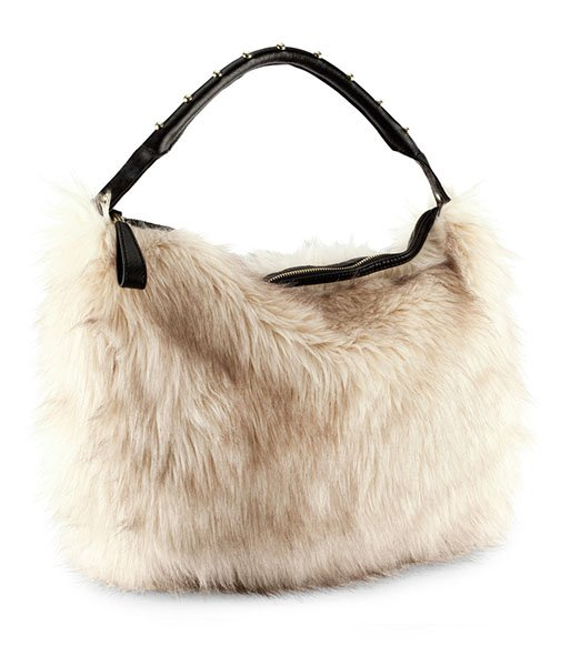 Faux fur bag, $34.95, hm.com