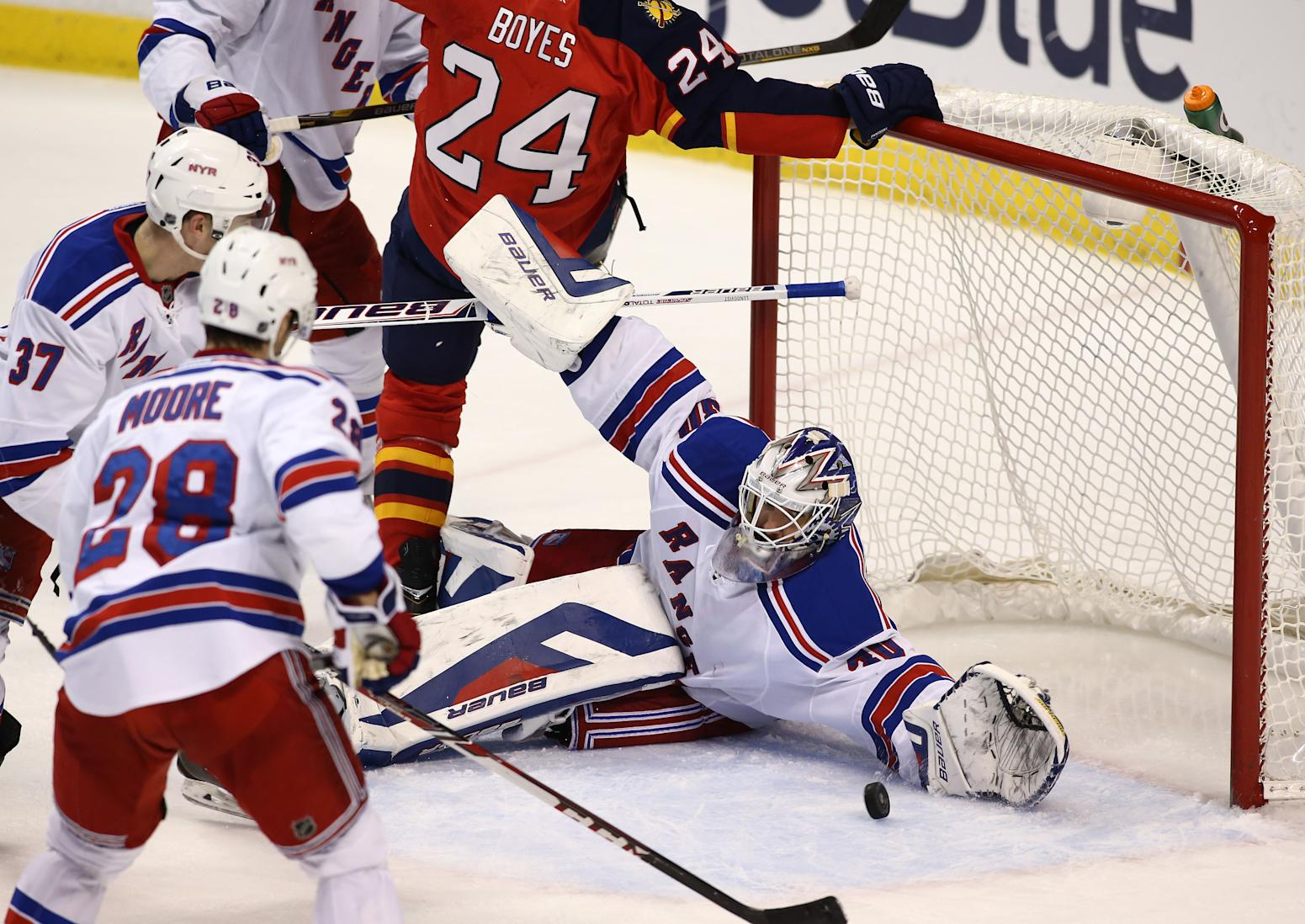 NHL: New York Rangers at Florida Panthers