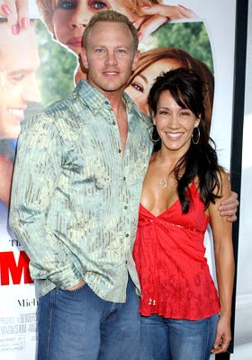Premiere: Ian Ziering and Lisa Ragland at the Westwood premiere of New Line Cinema's Monster-In-Law - 4/29/2005