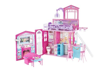 barbie dream house instructions 2012