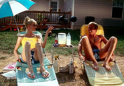 Laura Dern and Billy Bob Thornton in Miramax's Daddy and Them