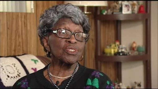 89-year-old woman locked in trunk of car
