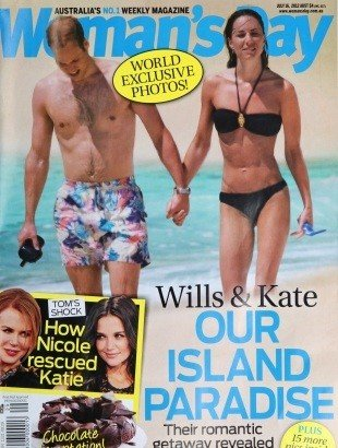 Portada Kate y William Woman's Day