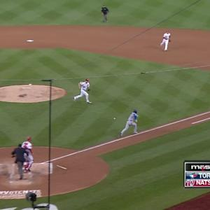 Scherzer's athletic play