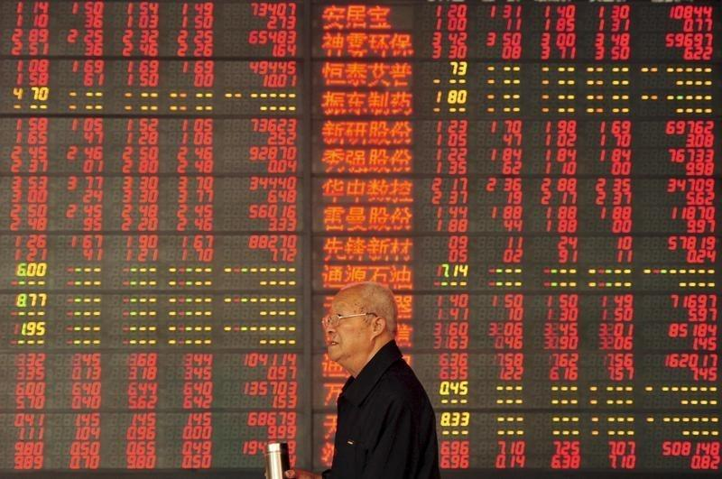 World stocks weak on China data, oil bounces after selloff