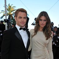 Chris Pine and Dominique Piek