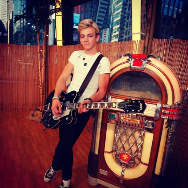 Classic cool from Ross Lynch, star of Disney Channel's #TeenBeachMovie!