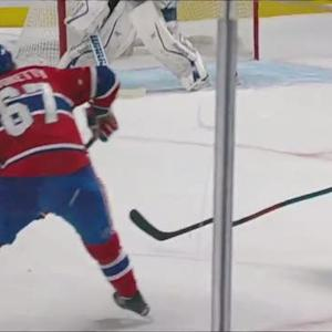 Pacioretty beats Bishop's glove to tie it up