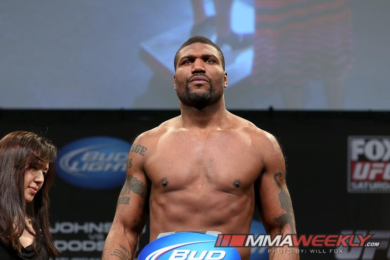 Rampage Jackson Resolute in Leaving the UFC, but Promotion Holds Matching Rights