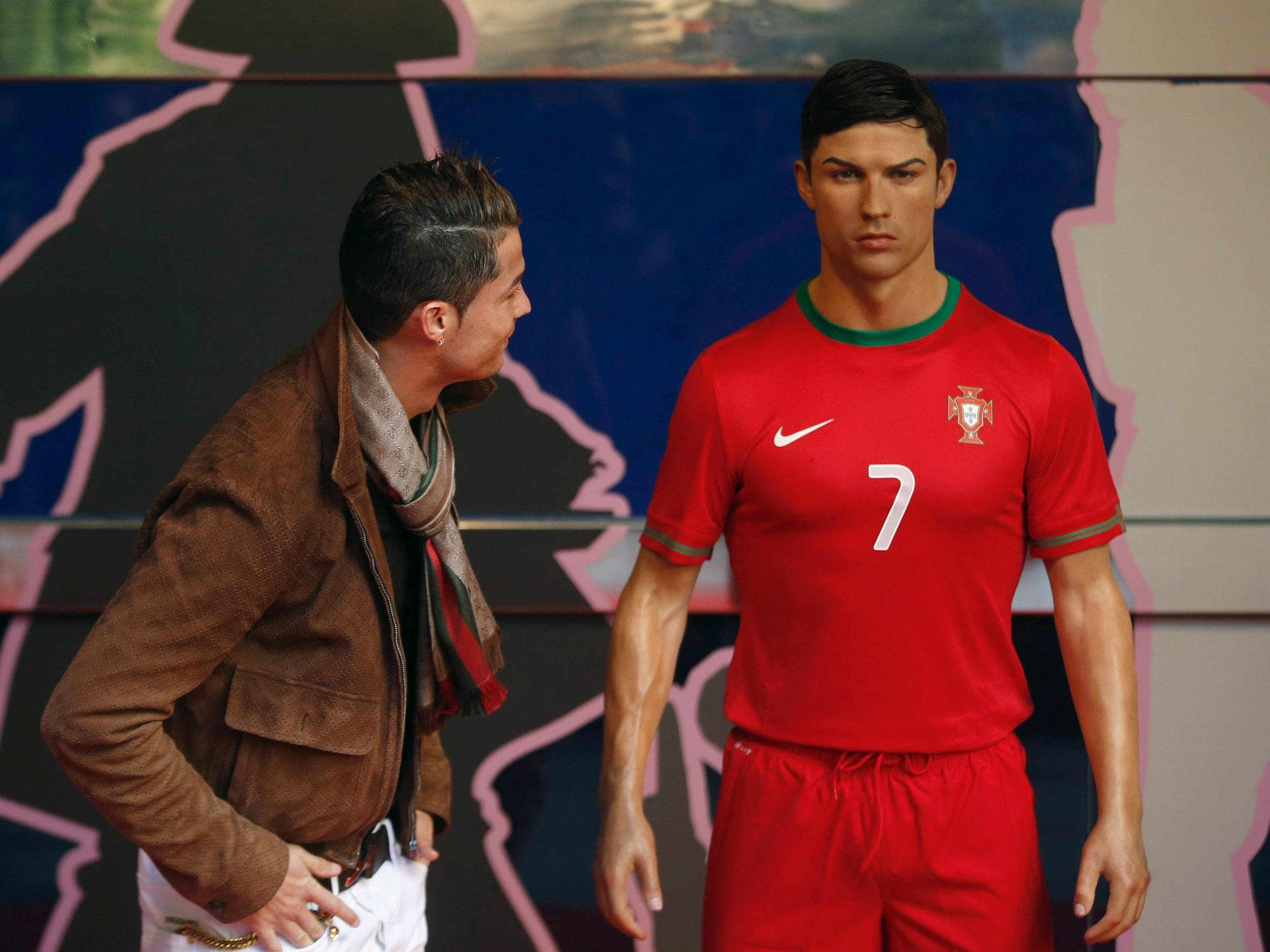 Cristiano Ronaldo liked his wax statue so much he paid the artist $31,000 to make one the footballer could keep