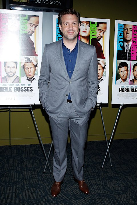 Horrible Bosses 2011 NY screening Jason Sudeikis