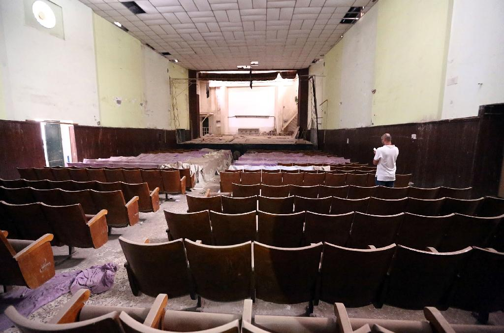 Lights out for movie houses in Libya's 'Mermaid of Med'
