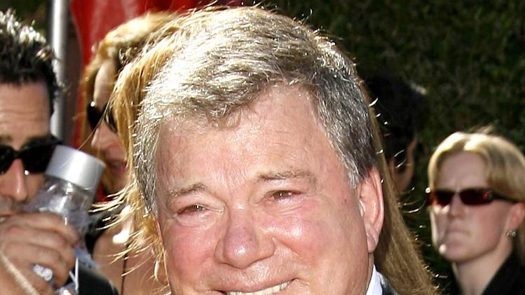 William Shatner at the 58th Annual Primetime Emmy Awards.
