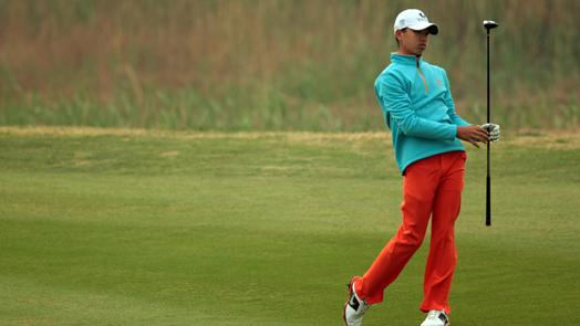 Guan, 14, looking to have fun in Masters debut