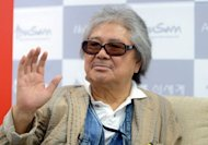 Japanese movie director Koji Wakamatsu is shown at the Busan International Film Festival (BIFF) in Busan on October 6. Wakamatsu, died in a Tokyo hospital late October 17, at the age of 76 after he was hit by a taxi last week, an official at his production company said on October 18