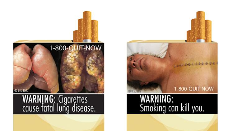 Court upholds block on graphic cigarette warnings