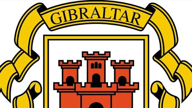 FOOTBALL gibraltar bandera