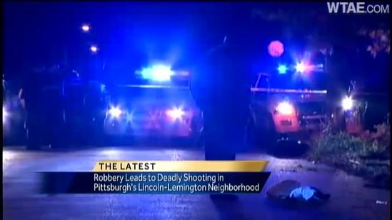 Man shot, killed during robbery in Lincoln-Lemington
