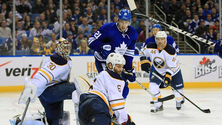 NHL: Toronto Maple Leafs at Buffalo Sabres