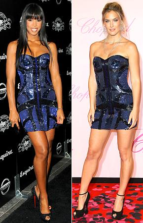 Who Wore it Best: Kelly Rowland or Bar Refaeli?